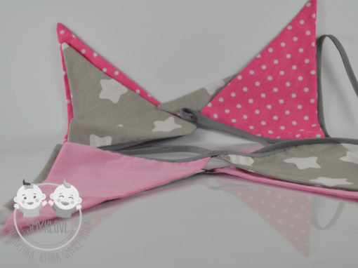 Różowa Girlanda dla dziewczynki