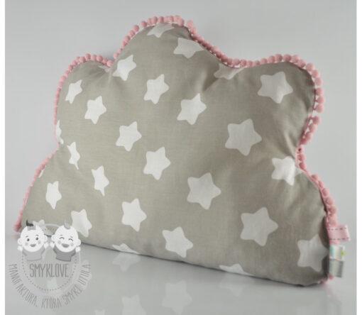 Poduszka dla dzieci w kształcie chmurki