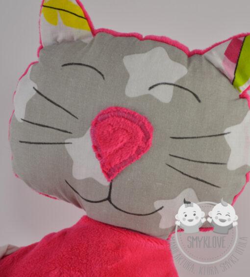 Maskotka kot i jego głowa