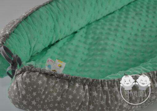 Kokon dla noworodka minky