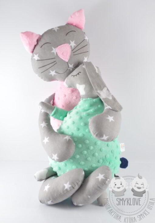 Przytulanki kot i zając