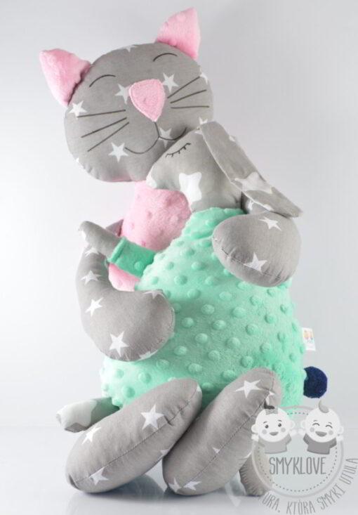Maskotki kot i zając
