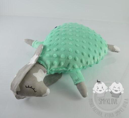 Maskotka zajączek leżąca