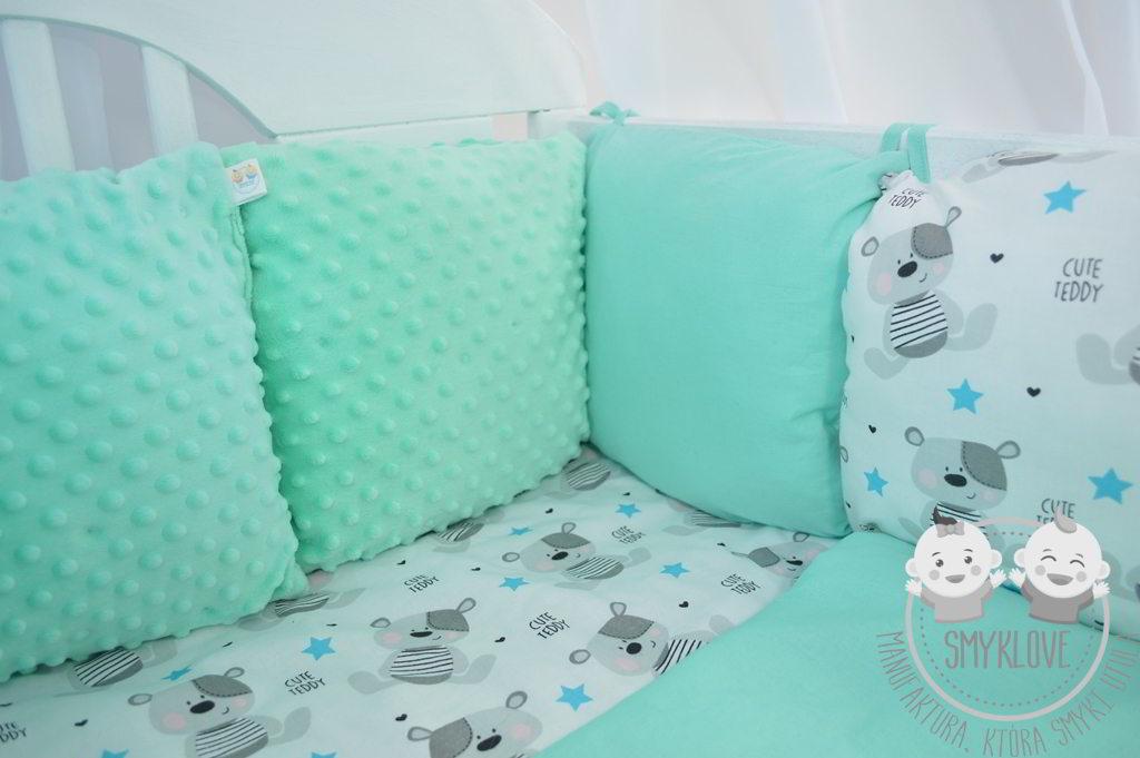 Ochraniacz Do łóżeczka Minky Bezpieczeństwo I Wygoda Smyklove