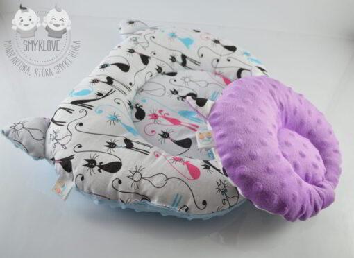 Poduszki dla niemowlaków z uszami