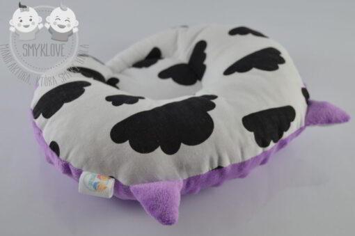 Poduszka uszatek - strona z tkaniną bawełnianą