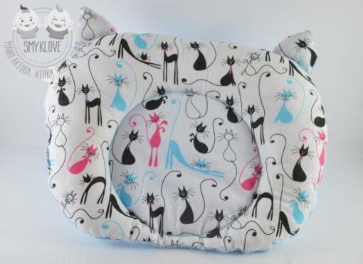 Poduszka dla niemowląt KOTuszka