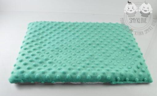 Płaska poduszka dla niemowlaka minky