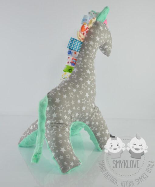 Przytulanka żyrafa ręcznie wykonana