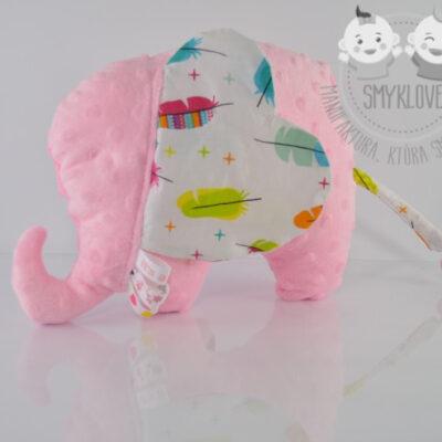 Przytulanka słonik zdjęcie z profilu