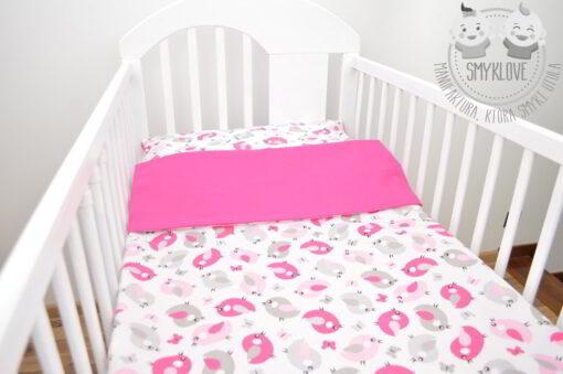 pościel do łóżeczka dla dziewczynki handmade