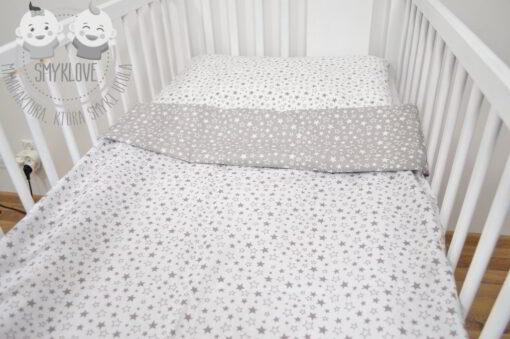 pościel do łóżeczka w gwiazdki 120x90