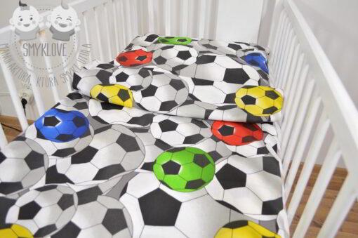 Pościel piłkarska do łóżeczka