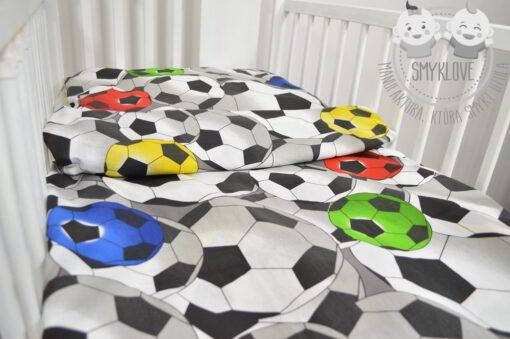 Kolorowa pościel piłkarska od Smyklove