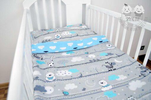 Pościel do łóżeczka 120x60 dla chłopca