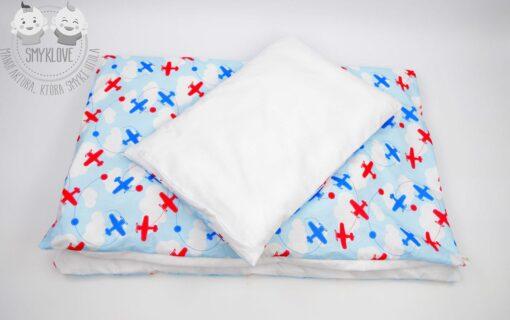 Pościel do łóżeczka dla chłopca - druga strona poduszki