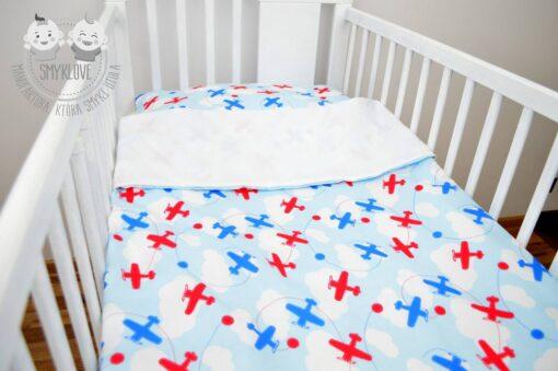 Pościel do łóżeczka dla chłopca z manufaktury Smyklove