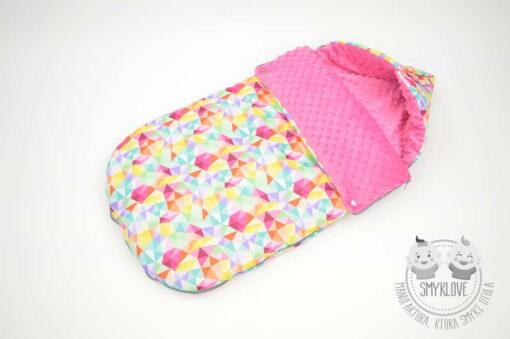 śpiworek zimowy dla niemowlaka od Smyklove