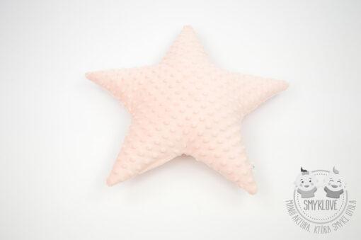 Poduszka w kształcie gwiazdki hand made