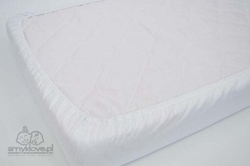 Smyklove ręcznie szyte prześcieradło z gumką do łóżeczka 120x60