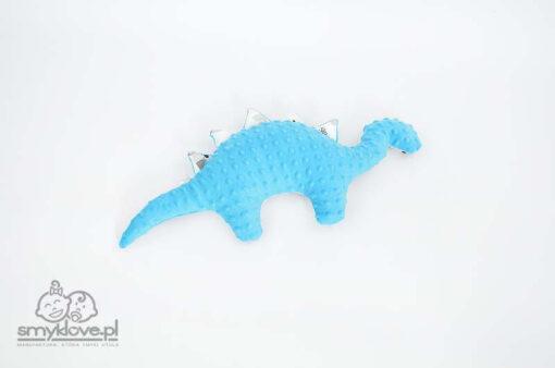 Druga strona maskotki dinozaura niebieskiej od Smyklove