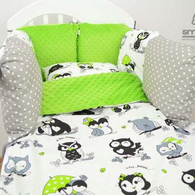 Ochraniacz do łóżeczka poduszki od Smyklove