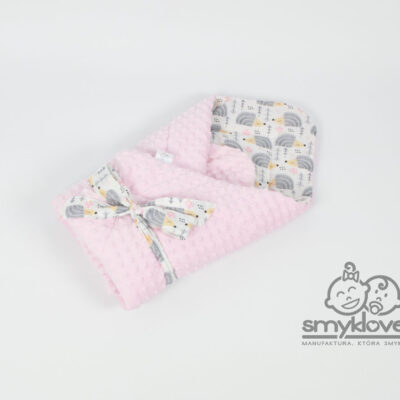 SMYKLOVE - różowy rożek w jeżyki