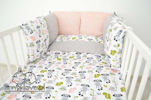 Pościel dziecięca do łóżeczka - komplet