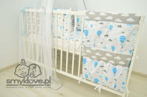 Organizer do łóżeczka w wyprawce dla niemowląt