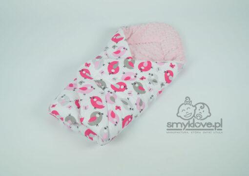 Zdjęcie bawełny w rożku różowym dla dziewycznek