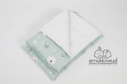 Tkaniny premium w pościeli do łóżeczka z wypełnieniem od smyklove