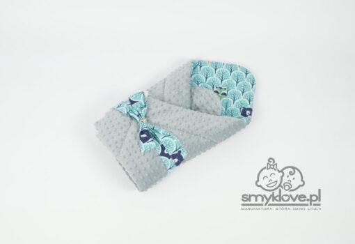 SMYKLOVE - rożek niemowlęcy zwierzęta w lesie