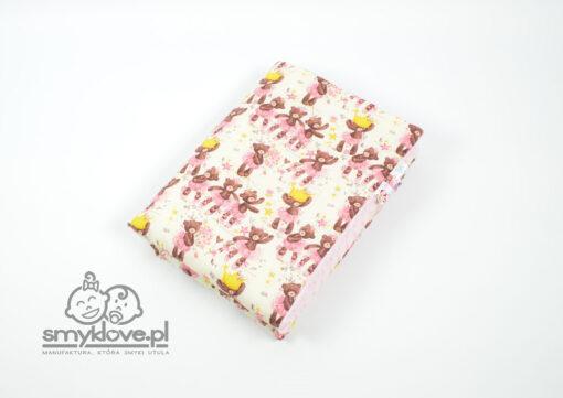 SMYKLOVE - Kocyk dziecięcy z różowym minky