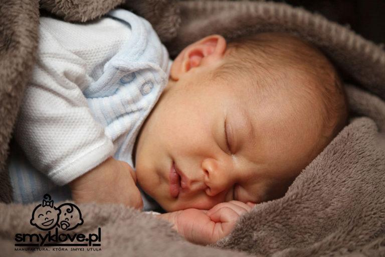 Niemowlak podczas snu