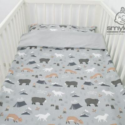 Pościel do łóżeczka 100x135 z bawełny premium od Smyklove