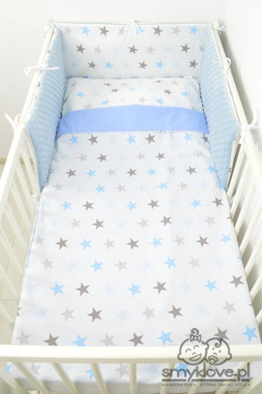 Pościel z trzech elementów do łóżeczka niemwolęcego