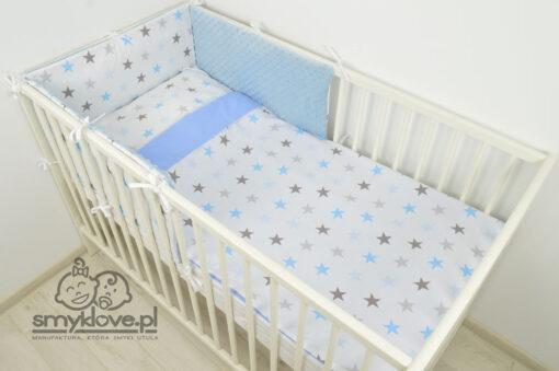 Łóżeczko niemowlęce z pościelą 3-elementową od Smyklove