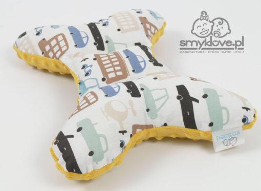 Poduszka antywstrząsowa dla chłopca od Smyklove