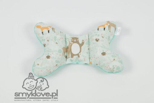 Poduszka motylek z minky burnout - Smyklove