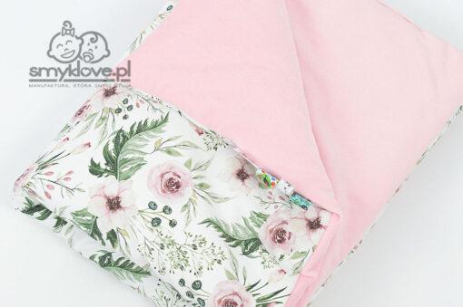 Zbliżenie na velvet i bawełnę in garden - Smyklove