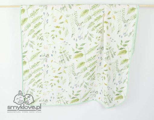 Otulacz 120 na 120 cm bambusowy hand made od Smyklove