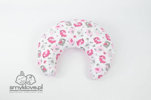 Różowa poduszka do karmienia od Smyklove
