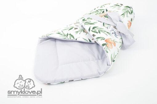 Rożek dla niemowląt z bawełny handmade - Smyklove