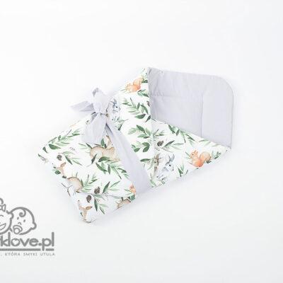 Rożek niemowlęcy bawełniany premium - SMYKLOVE
