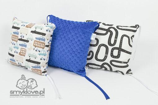 Poduszki w ochraniaczu na szczebelki od Smyklove
