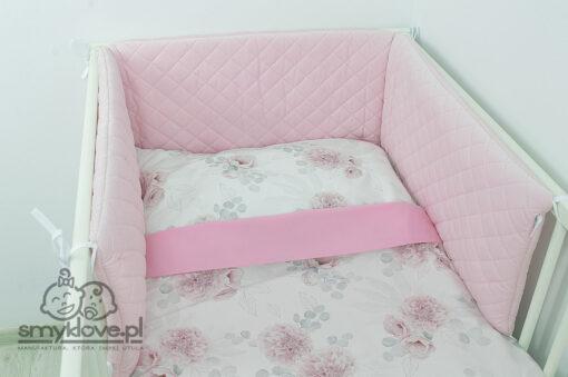 Ochraniacz na szczebelki różowy - SMYKLOVE