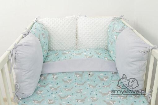 Pościel do łóżeczka 120x90 z ochraniaczem - SMYKLOVE