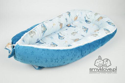 Kokon niemowlęcy premium born to fly - Smyklove handmade