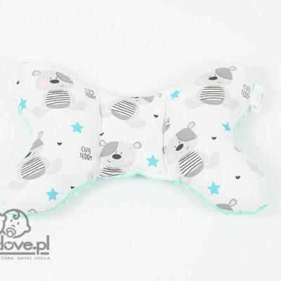 Poduszka motylek miętowa w Cute Teddy - Smyklove