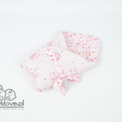 Rożek niemowlęcy serca - Smyklove